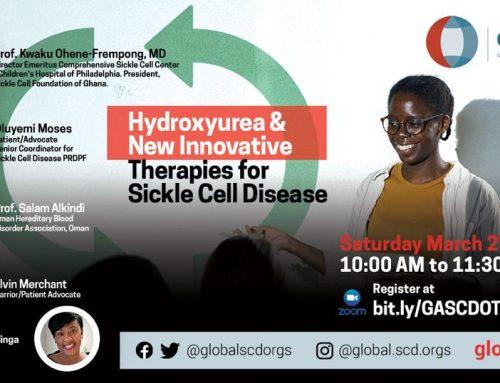 Hydroxyurea Discussion Webinar March 27th