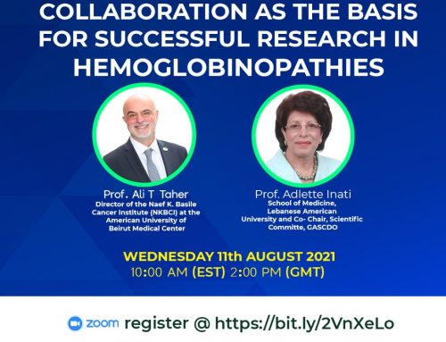 Collaboration As The Basis For Successful Research In Hemoglobinopathies