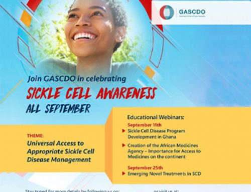 September is Sickle Cell Awareness Month.